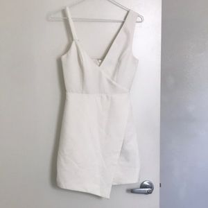 Nbd revolve white dress